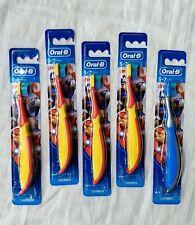 5 Oral-B Soft Kids Avengers Toothbrushes Iron Man Captain America Ant-Man Manual