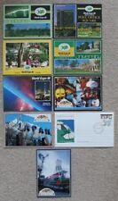 Australia Brisbane   World Expo 88   1988   Cover   +  Set of 8 Unused Postcards