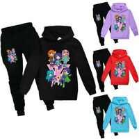 Its Funneh Kids Hoodies Sweatshirt Jumper+Pants Trousers Youtuber Tracksuit Set