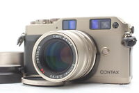 [Near MINT] Contax G1 D Rangefinder Film Camera Sonnar 90mm f2.8 Lens From JAPAN