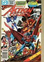 Action Comics #546-1983 fn-+ 6.5 Superman Teen Titans Justice League of America