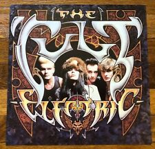 The Cult Electric Rare original promo 12 x 12 poster flat 1987