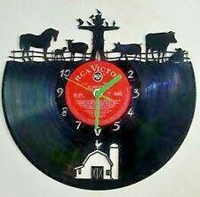 Farm Yard themed record clock