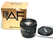 Nikon AF Nikkor 20mm F/2.8 D + Box