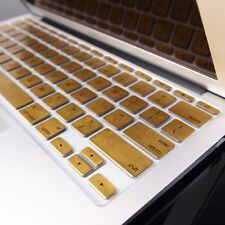 "METALLIC GOLD Keyboard Cover Skin for Old Macbook Air 11"" A1370"