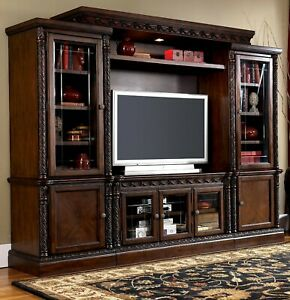 North Shore Entertainment Center by Ashley Furniture