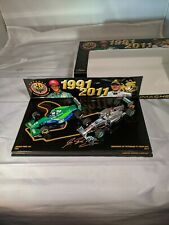 Michael Schumacher, 20 Years, Mercedes F1 W02, Jordan 191 Combo, 1:43 Minichamps