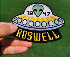 Roswell Iron on Patch Alien UFO 1947 Roswell Patches