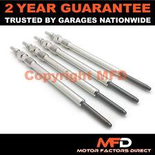 4x Diesel Heater Glow Plugs For Alfa Romeo Cadillac Fiat Saab Vauxhall 1.9 CDTI