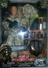 """World PeaceKeepers S.A.S. New Action Figure 12"""" MC Toy Center 2003"""