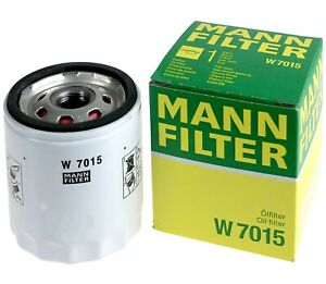 Mann-filter Oil Filter W7015 fits FORD AUSTRALIA MUSTANG FM,FN 2.3 EcoBoost