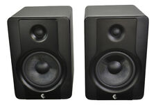 More details for studio monitor speakers with dual amplifier 5 inch bass driver supplied as pair