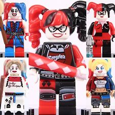 5 Pcs Set Bad Girl Super Hero Dc comics Suicide Squad Harley Quinn Fit to Lego