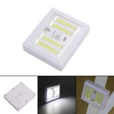 8W COB LED Wall Switch Wireless Closet Cabinet Magnetic Night Light Battery Lamp