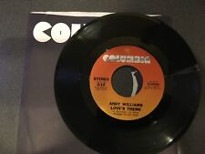 45 PROMO Andy Williams You're The Best Thing That Ever Happened To Me/ Loves NM
