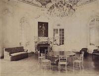 Château Da Chantilly Casa Di Sylvie Francia Vintage Albumina Ca 1885