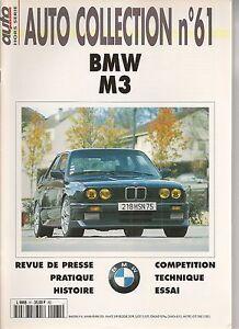 AUTO COLLECTION 61 BMW M3 E30 1987 1992