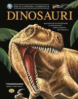 LIBRO • Enciclopedia Completa Dinosauri Edizione Ilustrata con Sovracoperta