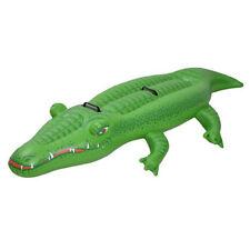 Krokodil aufblasbar, Luftmatratze, Größe 200 x96x31cm 90Kg
