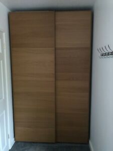 Large Ikea Pax Tonnes Wardrobe with Sliding Doors