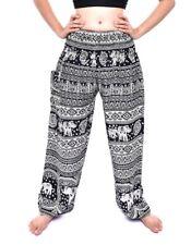 Bohotusk Elephant Print Harem Pants Trousers 40 Styles One Size 20-42 in waist