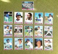 1979 TOPPS BASEBALL LOS ANGELES DODGERS COMPLETE TEAM SET 28 CARDS EX/NM SUTTON