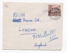 1965 TRINIDAD & TOBAGO QEII Cover PORT OF SPAIN To LONDON