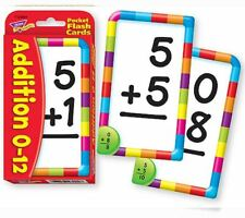 TREND kids childrens Math Addition Pocket Flash Cards