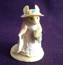 "BORDER FINE ARTS ""Brambly Hedge"" BH9 POPPY EYEBRIGHT mouse ornament"