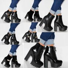 """Unbranded Synthetic Leather Very High (greater than 4.5\) Women's Heels"""""""