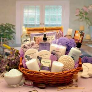 The Essence Of Lavender Spa Gift Basket - Gift Baskets by Starr for all Occasion