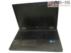 *AS-IS* HP Probook 6560B Core i3-2310M 2.10GHz 4GB RAM DVDRW No HDD Laptop