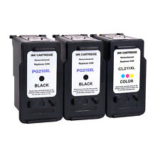 3 Pack For Canon PG-210XL CL-211XL Ink Cartridge PIXMA MP480 MP490 MP495 MP499