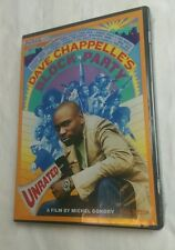 Dave Chappelle's Block Party (DVD, 2006, Unrated; Full Frame) NEW free shipping