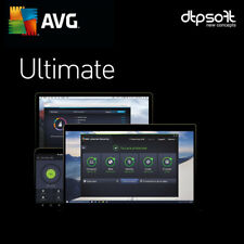 AVG Ultimate 2019 Unlimited Appareils/Pc 2018 1 an Antivirus Mac Android BE EU