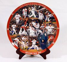 Danbury Mint 2004 ALC Boston Red Sox Decorative Plate