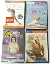 NEW Lot of 4 DVDs - Yoga For Beginners & Beyond / Yoga Mama / Flexibility SEALED