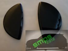 Mini Cooper R55/56/57 black gloss jet washer covers