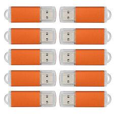 10PCS 32GB USB 2.0 Flash Drives Memory Storage Disk Thumb Pen Drive U Disks