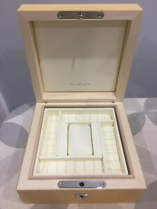 Magnificent Blancpain Wood Watch Box. New with Inner/outer EC 700.024.