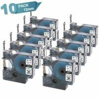 10X 45013 S0720530 Refill Replace Dymo D1 Label Manager Label Maker PnP 260P 160