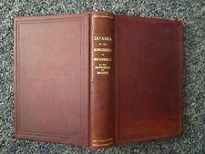 ZATAHRA Sorceress of Brussels Witchcraft Very Rare 1872 1st Ed. Leather Hardback