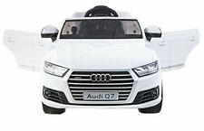 Simron Audi Q7 Quattro Kinder Elektroauto, 2x Motoren 12v - Weiss