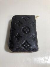 Black Auner Designer Genuine Leather Women Wallet Slim Wallet RFID Blocking