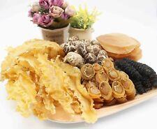 Set-35 Dried Fish Maw x Dalian Abalones x Sea Cucumbers x Mushroom x Conch Slice