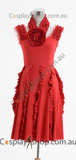 Harry Potter and the Deathly Hallows Hermione Granger Red Dress Costume