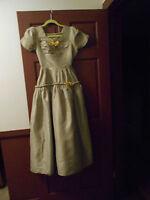 ANTIQUE VINTAGE LADIES 1940'S PROM DRESS