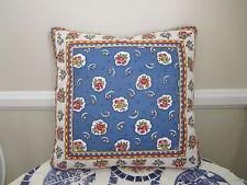 Gorgeous Accent Pillow Pierre Deux Blue Avignonet French Country Toile Fleur
