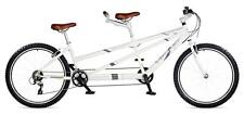 "VIKING TIMBER TRAIL 26"" ADULT TANDEM 24 SPEED SHIMANO, ALLOY 17""/15"" FRAME WHITE"