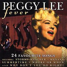 Lee, Peggy Fever CD